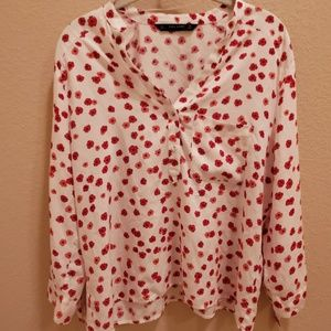 Zara Tops - Zara Long-sleeved blouse